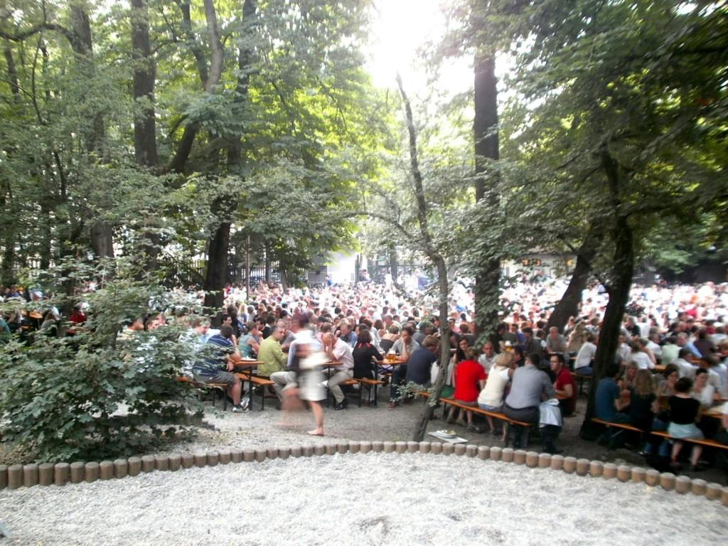 Augustiner Keller Beer Garden Munich