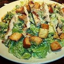 low calorie grilled chicken caesar salad